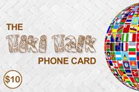 Tiki Talk PhoneCard $10 - International Calling Cards
